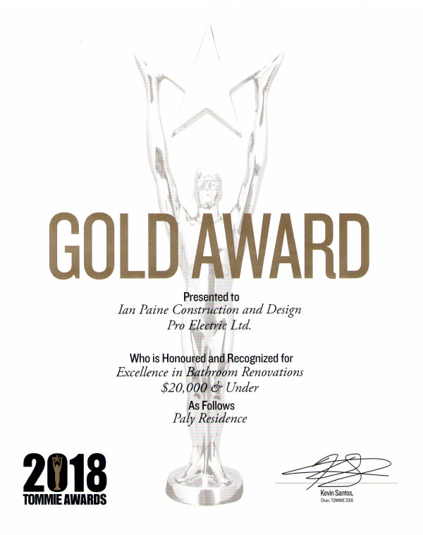 Pro Electric Ltd. is 2018 Tommie Gold Award Winner
